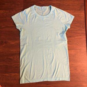 Lululemon light blue shirt size 10